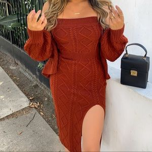 Fashion Nova Dresses - Stunning Sweater Dress